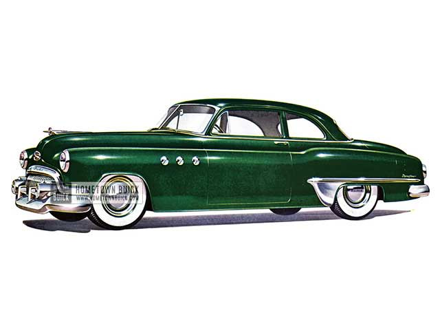 1951 Buick Special Tourback Coupe - Model 46S HB