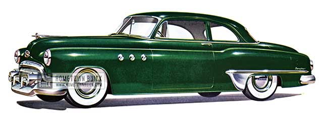 1951 Buick Special Tourback Coupe - Model 46S