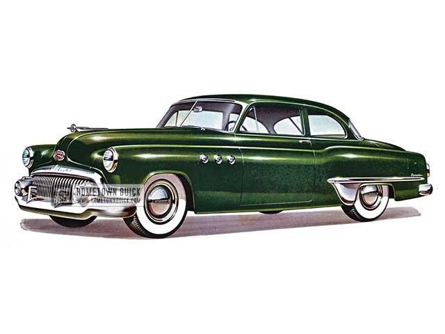 1951 Buick Special Tourback Sedan - Model 48 HB