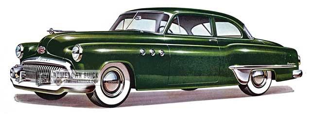 1951 Buick Special Tourback Sedan - Model 48