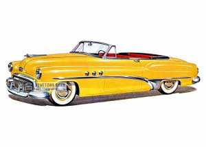 1951 Buick Super Convertible - Model 56C HB