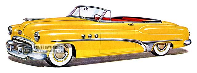 1951 Buick Super Convertible - Model 56C