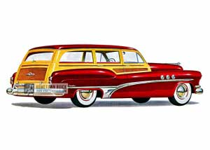 1951 Buick Super Estate Wagon - Model 59 HB