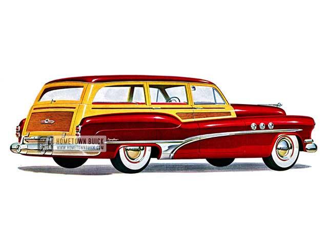 1951 Buick Super Estate Wagon - Model 59 HB