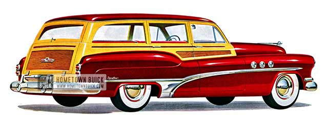 1951 Buick Super Estate Wagon - Model 59