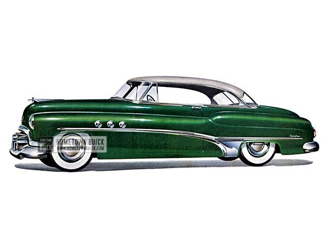 1951 Buick Super Riviera - Model 56R HB
