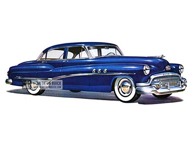1951 Buick Super Riviera Sedan - Model 52 HB