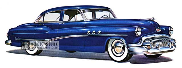1951 Buick Super Riviera Sedan - Model 52