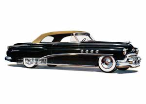 1952 Buick Roadmaster Convertible - Model 76C HB