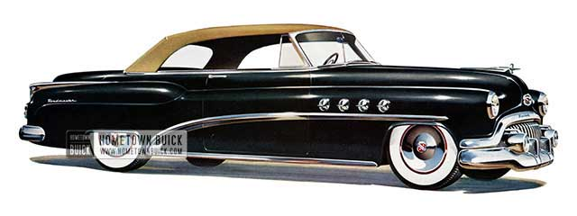 1952 Buick Roadmaster Convertible - Model 76C