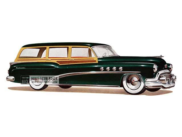 1952 Buick Roadmaster Estate Wagon - Model 79R HB