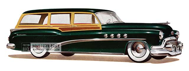 1952 Buick Roadmaster Estate Wagon - Model 79R