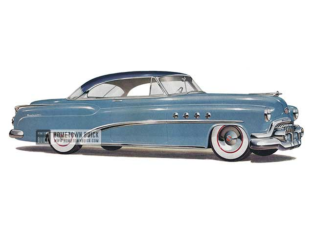 1952 Buick Roadmaster Riviera - Model 76R HB
