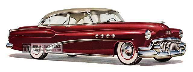 1952 Buick Roadmaster Sedan - Model 72R