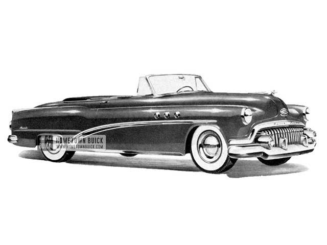 1952 Buick Special Convertible - Model 46C HB