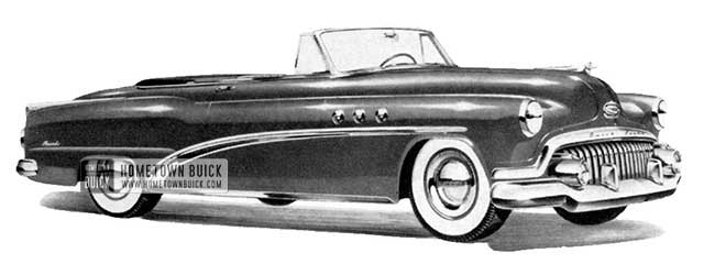 1952 Buick Special Convertible - Model 46C