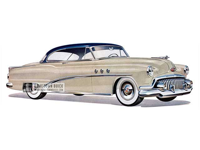 1952 Buick Special Riviera - Model 45R HB