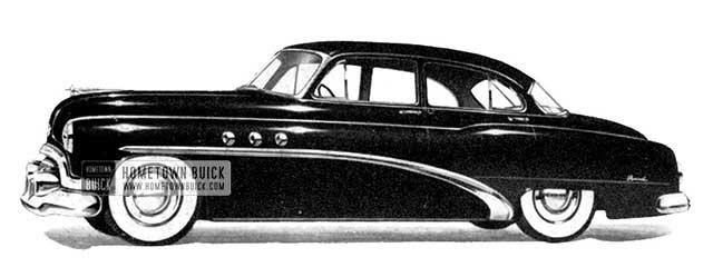 1952 Buick Special Sedan - Model 41