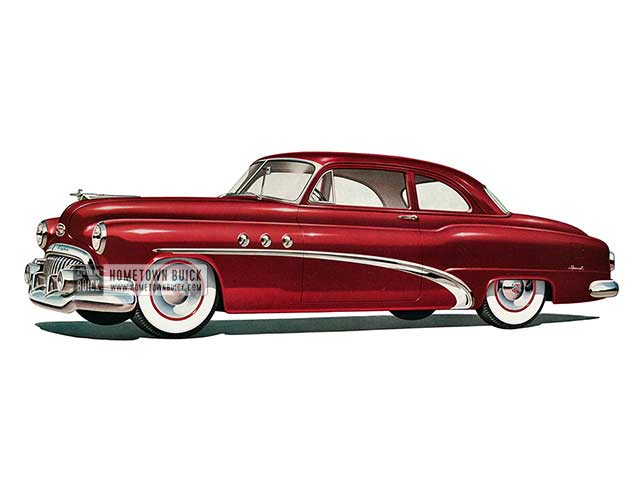 1952 Buick Special Tourback Coupe - Model 46 HB