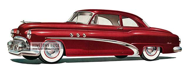 1952 Buick Special Tourback Coupe - Model 46