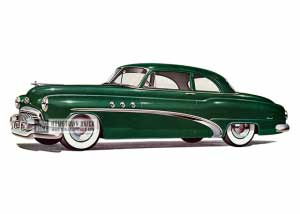1952 Buick Special Tourback Coupe - Model 46S HB