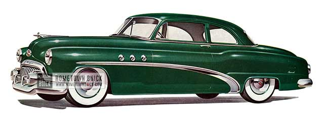 1952 Buick Special Tourback Coupe - Model 46S