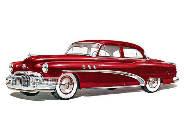 1952 Buick Special Tourback Sedan - Model 41D HB