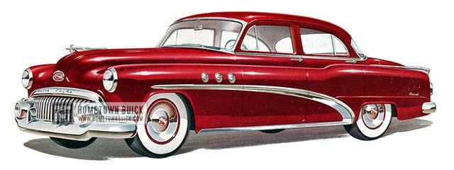 1952 Buick Special Tourback Sedan - Model 41D