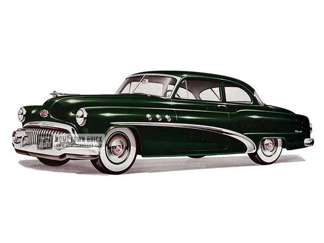 1952 Buick Special Tourback Sedan - Model 48 HB