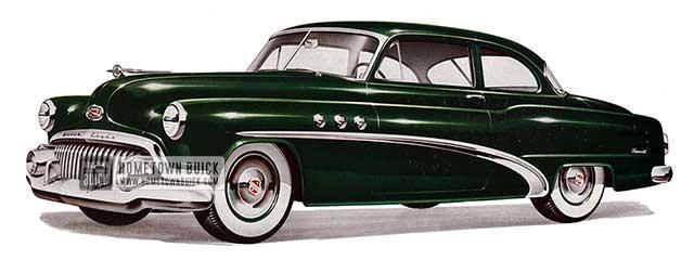 1952 Buick Special Tourback Sedan - Model 48