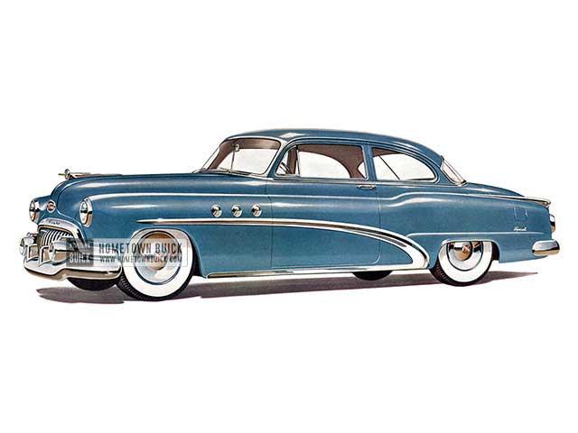 1952 Buick Special Tourback Sedan - Model 48D HB