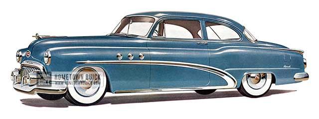 1952 Buick Special Tourback Sedan - Model 48D