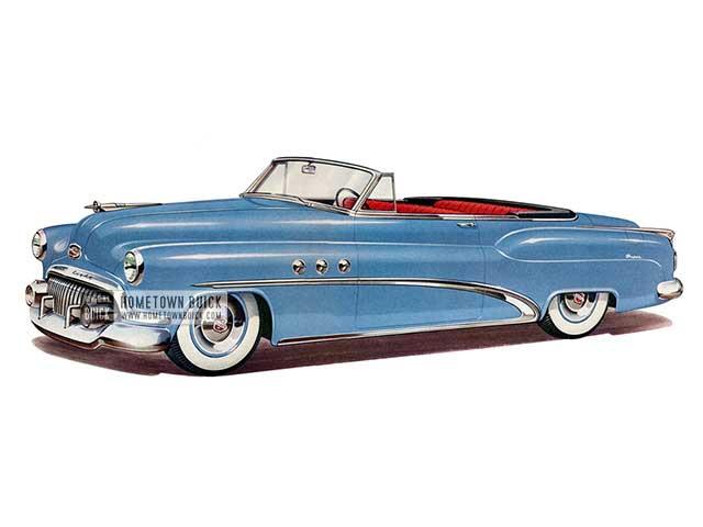 1952 Buick Super Convertible - Model 56C HB