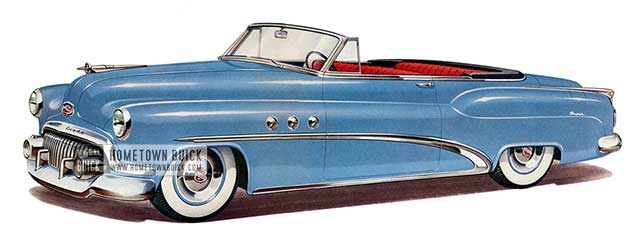 1952 Buick Super Convertible - Model 56C