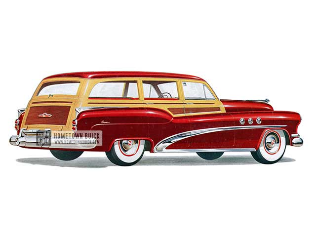 1952 Buick Super Estate Wagon - Model 59 HB