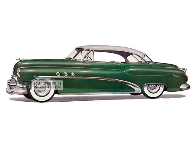 1952 Buick Super Riviera - Model 56R HB
