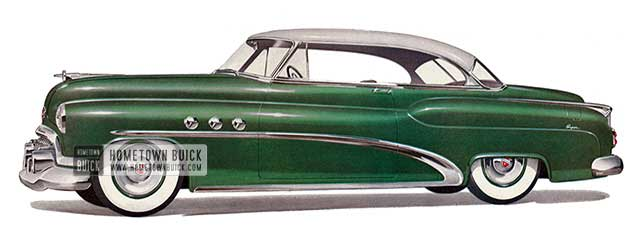 1952 Buick Super Riviera - Model 56R