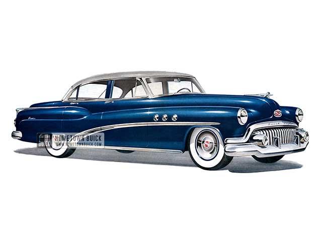 1952 Buick Super Sedan - Model 52 HB