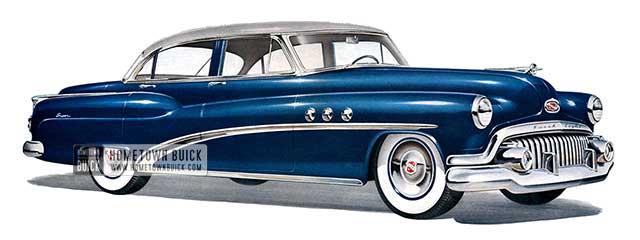 1952 Buick Super Sedan - Model 52