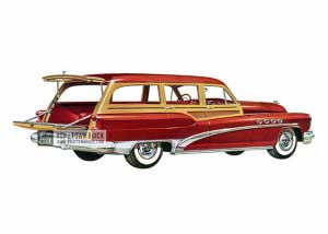 1953 Buick Roadmaster Estate Wagon - Model 79R HB