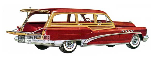 1953 Buick Roadmaster Estate Wagon - Model 79R