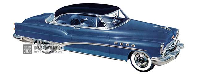 1953 Buick Roadmaster Riviera - Model 76R