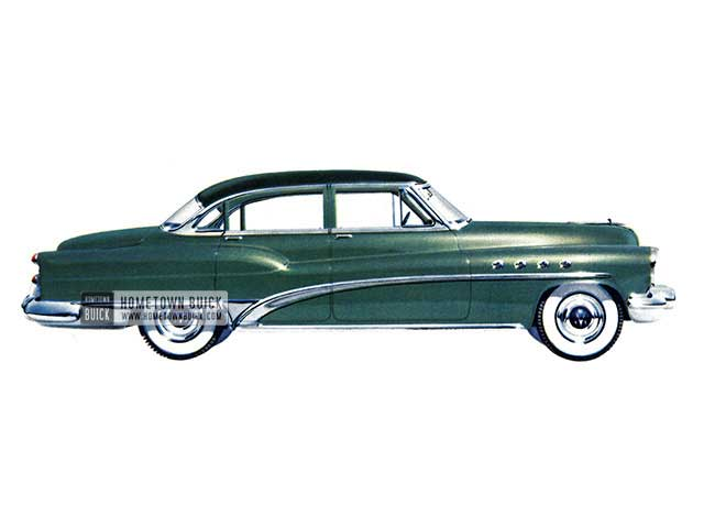 1953 Buick Roadmaster Riviera Sedan - Model 72R HB
