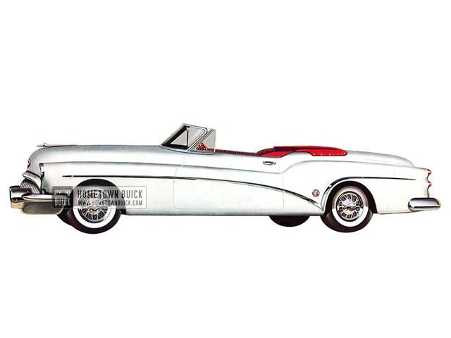 1953 Buick Skylark Convertible - Model 76X HB