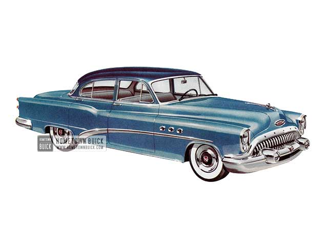 1953 Buick Special Deluxe Sedan - Model 41D HB