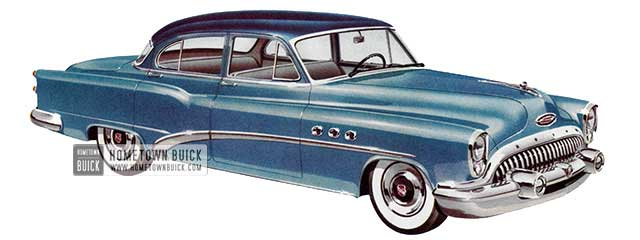 1953 Buick Special Sedan - Model 41D