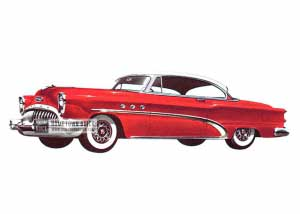 1953 Buick Special Riviera - Model 45R Alternative HB