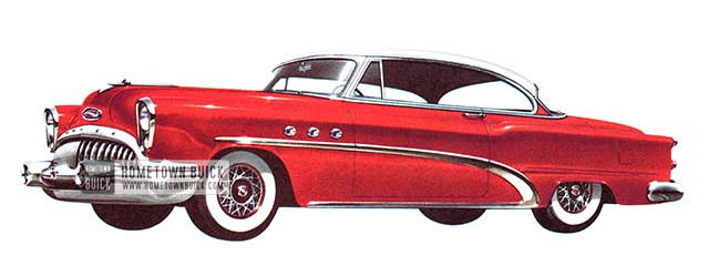 1953 Buick Special Riviera - Model 45R