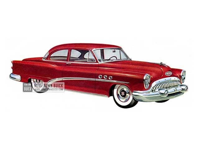 1953 Buick Special Sedan - Model 48D HB