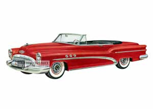 1953 Buick Super Convertible - Model 56C HB